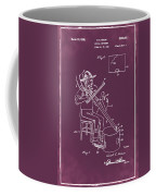 Pitch Fork Fiddle And Drum Patent 1936 - Red Coffee Mug