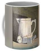 Pitcher, Meter And Matches Still Life Coffee Mug