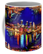 Pittsburgh Skyline Art Coffee Mug