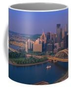 Pittsburgh,pennsylvania Skyline Coffee Mug