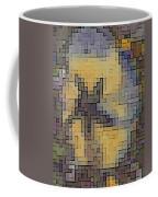 Pixel Pansy Coffee Mug
