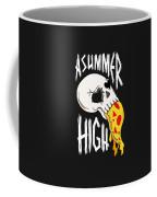 Pizza Skull Coffee Mug