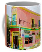 Pizzeria In La Boca Area Of Buenos Aires-argentina  Coffee Mug