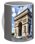 Arc De Triomphe # 2 Coffee Mug by Mel Steinhauer