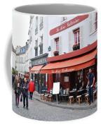 Place Du Tertre In Paris Coffee Mug