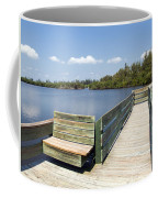 Place For Fishing Or Just Sitting At Round Island In Florida  Coffee Mug