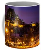 Place-royale At Twilight Quebec City Canada Coffee Mug