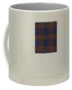 Plaid Homespun Cloth Coffee Mug