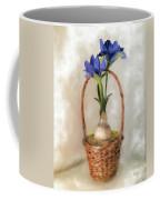 Plain Blue Iris Coffee Mug