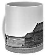 Plains Homestead Bw Coffee Mug