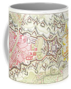 Plan Of Part Of The City And Citadel Of Strasbourg Coffee Mug