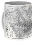 Plan Of The City Of New York Coffee Mug by American School