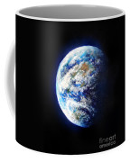 Planet Earth. Space Art Coffee Mug