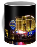 Planet Hollywood By Night Coffee Mug