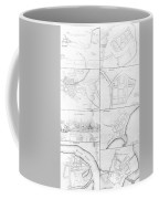 Plans Of The Principle Towers, Forts And Harbors In Ireland  Coffee Mug