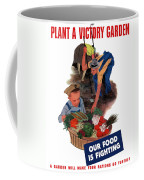 Plant A Victory Garden  Coffee Mug by War Is Hell Store