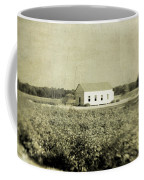 Plantation Church - Sepia Texture Coffee Mug