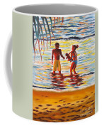 Play Day At Jobos Beach Coffee Mug
