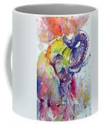 Playing Elephant Coffee Mug