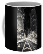 Playing In Traffic Blackout Coffee Mug