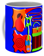 Playing Music Coffee Mug