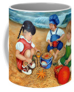 Playtime At The Beach Coffee Mug