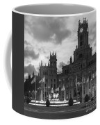 Plaza De Cibeles Fountain Madrid Spain Coffee Mug