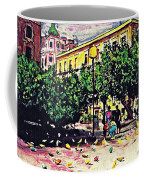 Plaza In Murcia Coffee Mug