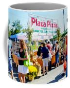 Plaza Pizza Coffee Mug