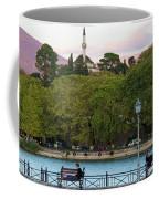 Pleasant Afternoon By Lake Pamvotis In Ioannina Coffee Mug