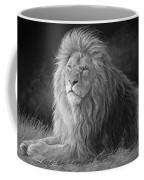Pleasant Breeze - Black And White Coffee Mug