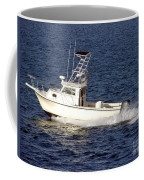 Pleasure Fishing Boat Coffee Mug