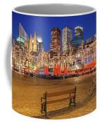 Plein Square At Night - The Hague Coffee Mug