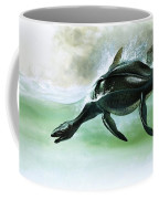 Plesiosaurus Coffee Mug by William Francis Phillipps