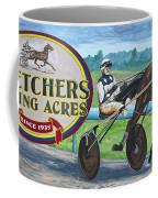 Pletchers Racing Mural Shipshewana Coffee Mug