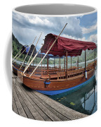 Pletna Boats Of Lake Bled Coffee Mug