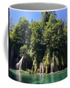 Plitvice Falls Coffee Mug