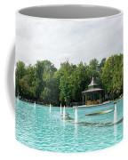 Plovdiv Singing Fountains - Bright Aquamarine Water Dancing Jets And Music Coffee Mug