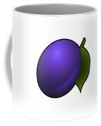 Plum Fruit Outlined Coffee Mug