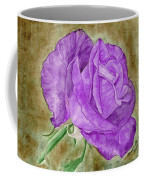 Plum Passion Rose Coffee Mug