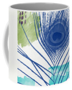 Plumage 3- Art By Linda Woods Coffee Mug