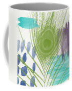 Plumage 4- Art By Linda Woods Coffee Mug