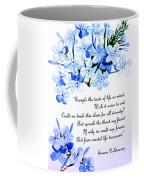 Plumbago   Poem Coffee Mug