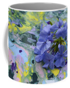 Plumbago Flowers Coffee Mug