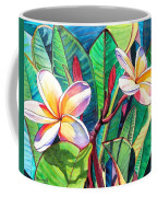 Plumeria Garden Coffee Mug by Marionette Taboniar