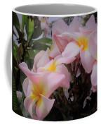 Plumeria In Pink 4 Coffee Mug