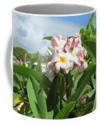 Plumeria In Pink Coffee Mug