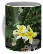 Plumeria In Yellow 2 Coffee Mug
