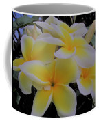 Plumeria In Yellow 4 Coffee Mug