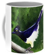 Plush Crested Jay Coffee Mug
